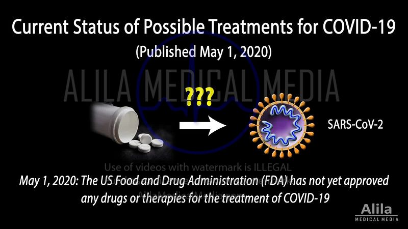 Current status of possible treatments for COVID-19, updated May 1, 2020