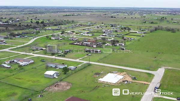 Urban Sprawl, Houses in the Country, Bryan, Texas, USA