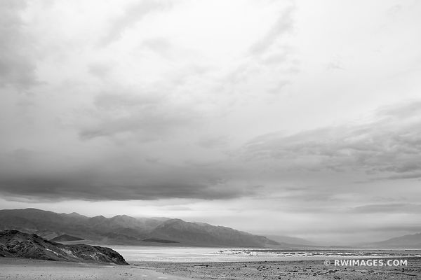 DEATH VALLEY NATIONAL PARK CALIFORNIA BLACK AND WHITE