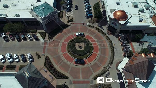 Large Suburban Mall Arkansas Drone Aerial View