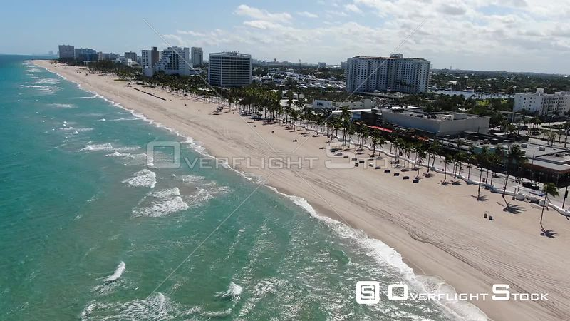 Drone Video of Fort Lauderdale Florida During COVID-19 Pandemic