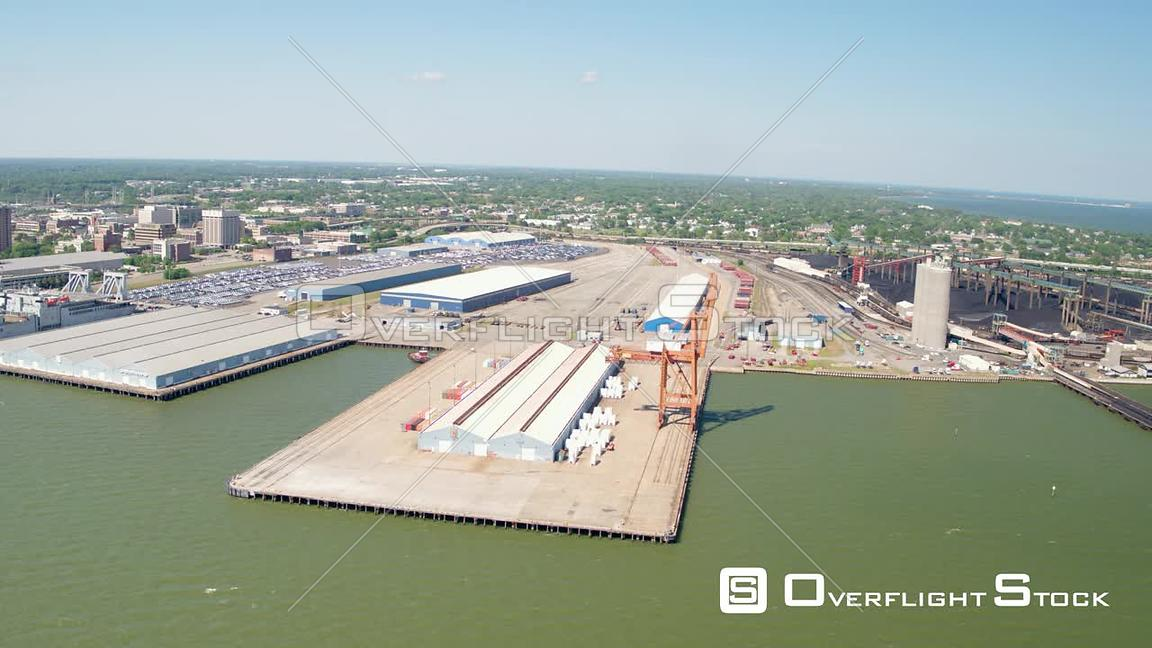 Orbit of Bulk Terminal at Newport News Port in Virginia