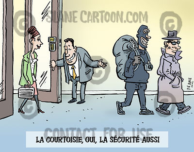 Security Not Courtesy (French)