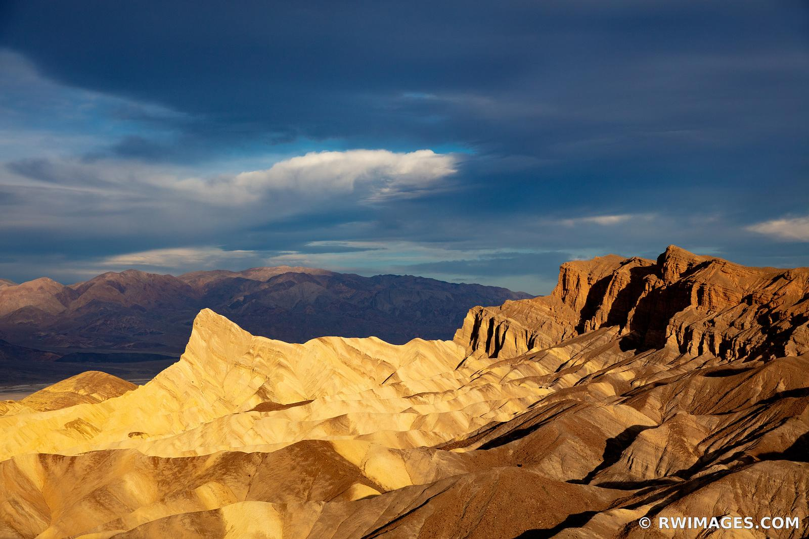 MANLY BEACON ZABRISKIE POINT SUNRISE DEATH VALLEY CALIFORNIA