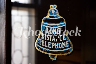 "Image of Bell With Words ""Long Distance Telephone"""