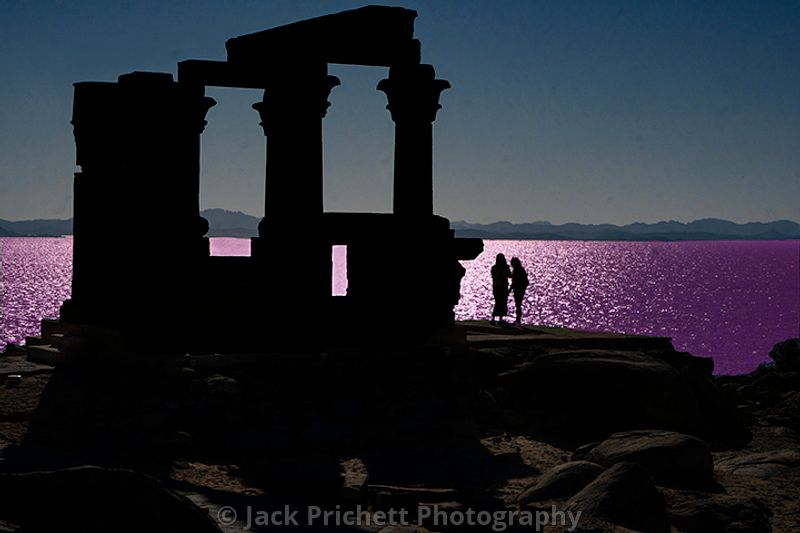 _DSC1993_Temple_of_Kertassi_in_Kabsha_temple_complex_sea_tint_final_8x12_w_girls_silhouette_LO_RES