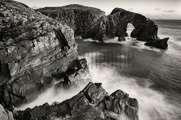 Stac a' Phris Natural Sea Arch