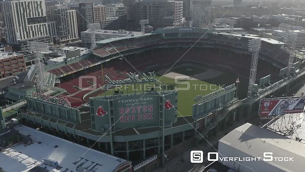 Empty Fenway Park on Opening Day during the COVID-19 Pandemic in Boston, MA, United States (1 of 12)