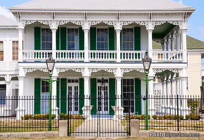 Creole Townhouse in Galveston, Texas