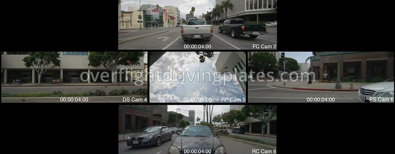 Miracle Mile  Los Angeles California USA - Driving Plate Preview 2012