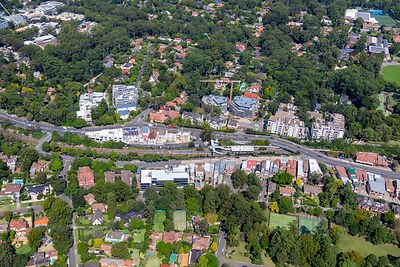 Pymble from Above