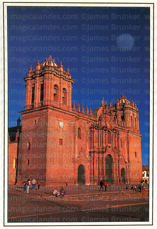 #17 Cathedral and full moon, Cusco