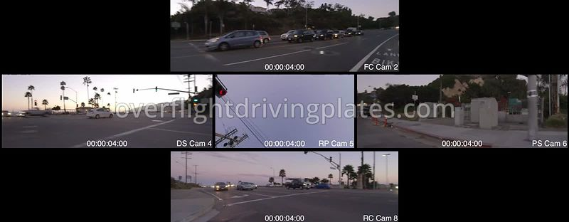 Canyon Twilight  Los Angeles California USA - Driving Plate Preview 2012