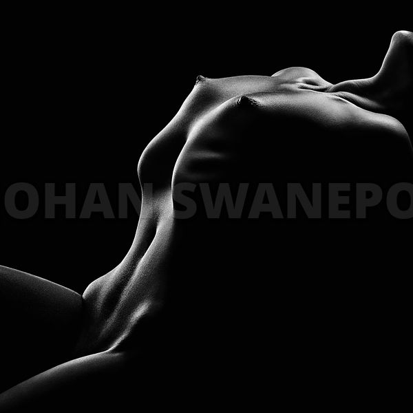 Nude woman bodyscape 42