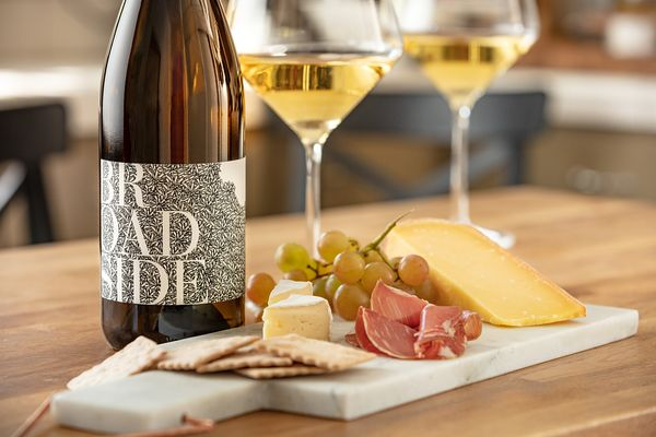 Wine and cheese hour. Ad campaign for Broadside Wines, Paso Robles, California. Wine and food photography by Jason Tinacci