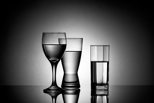 Montreal Commercial Photographer, South Shore Beverage & Product Photography, Glasses Water