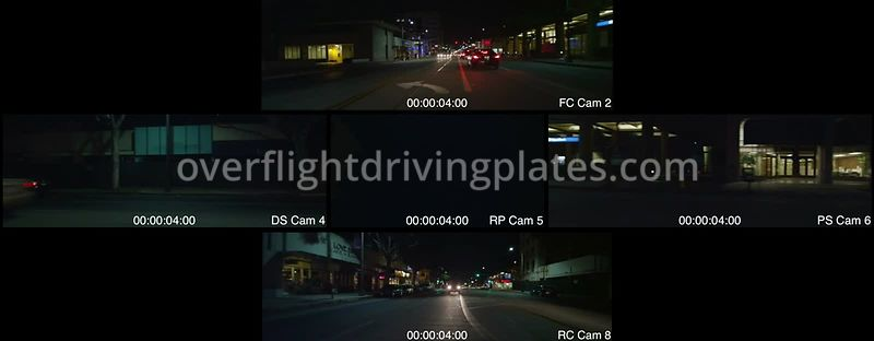 Lake Avenue Night  Pasadena California USA - Driving Plate Preview 2012