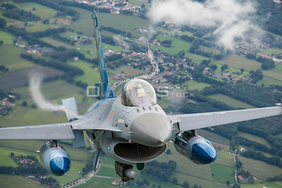 F-16 Fighter Belgian Air to Air