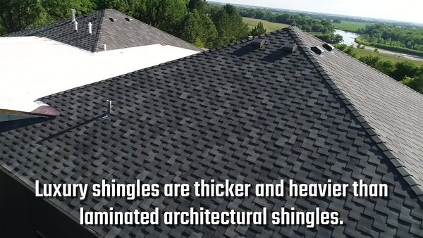 Pinnacle Luxury Architectural Shingles