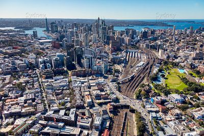 Chippendale Aerial Photography