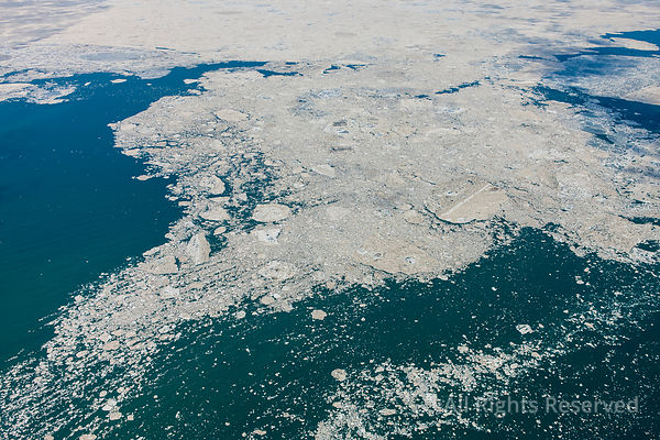 Fury and Hecla Strait near Igloolik and Pinger Point Nunavut