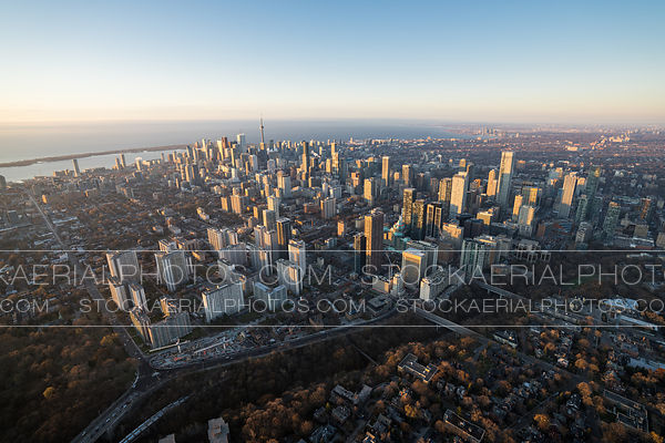 St. James Town and the Toronto Skyline