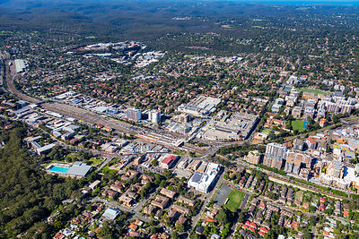 Hornsby Looking North East