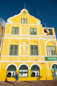 Penha buidling (1708), colonial building on the waterfront, Willemstad, Curaçao