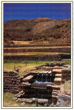 #33 The water temple at Tipon, Sacred Valley