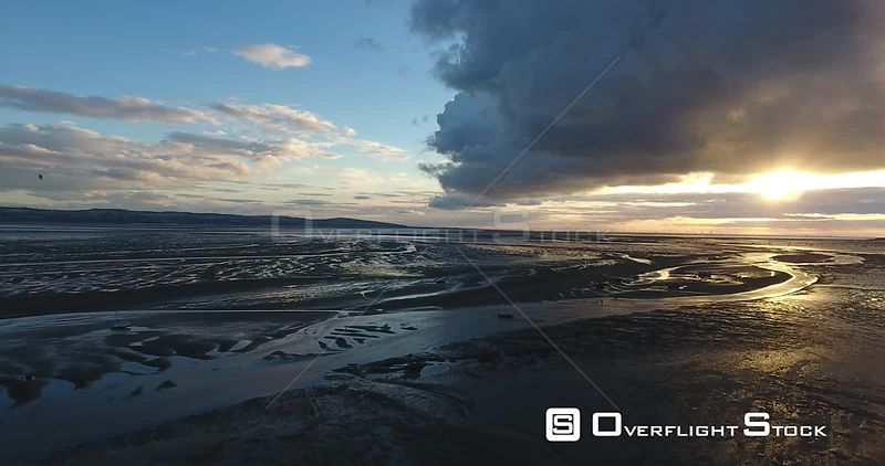 Low Tide at Sunset River Dee Thurstason UK