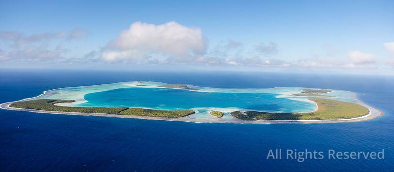 Tetiaroa Atoll Tropical Islands of French Polynesia