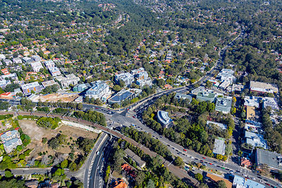 Ryde Rd and Pacific Highway, Pymble