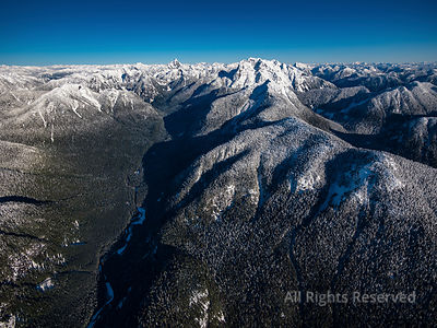 Mt. Robie Reid and Golden Ears Park in Winter