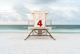 Pensacola Casino Beach Lifeguard Tower Four Photo