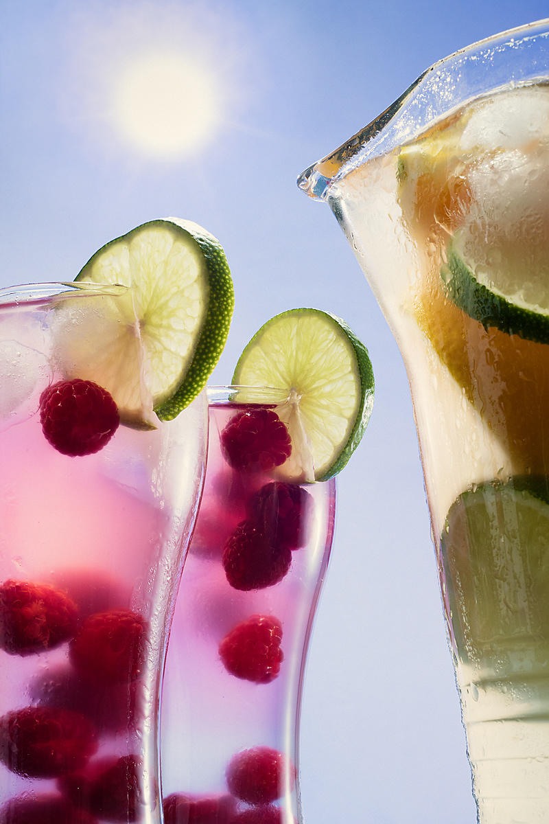 Montreal Food photography, lemonade drink, commercial photographer