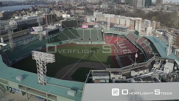 Empty Fenway Park on Opening Day during the COVID-19 Pandemic in Boston, MA, United States (7 of 12)