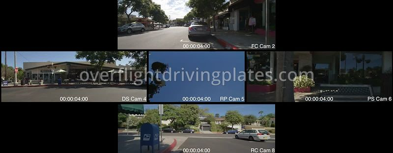 Pacific Palisades   California USA - Driving Plate Preview 2012