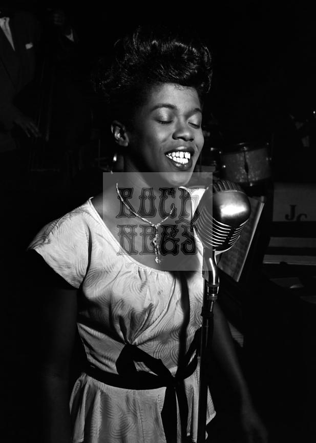 Sarah Vaughan at the Cafe Society