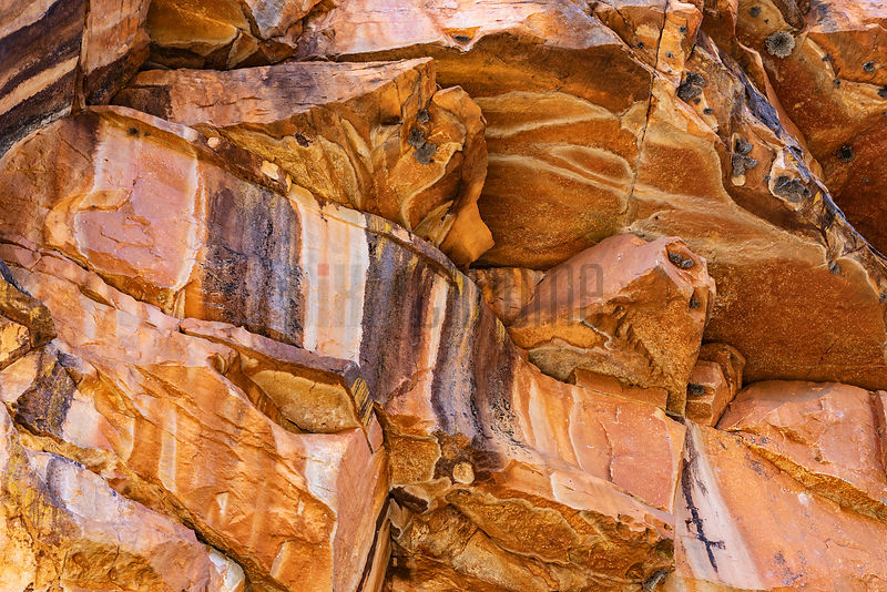 Sandstone Formationa at Bell Gorge