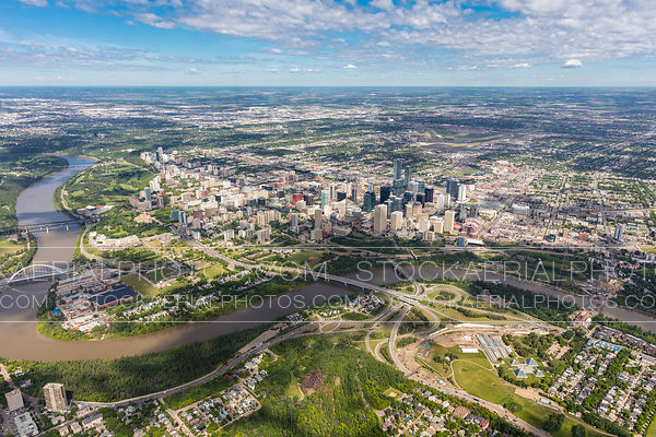 Downtown Edmonton Skyline