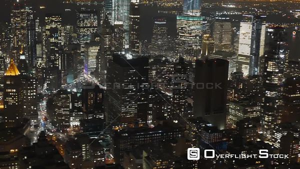 Titanpointe NSA National Security Agency Building in Tribeca Manhattan New York City Aerial View