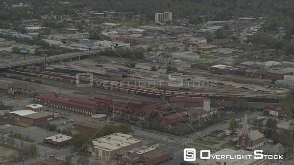 Georgia Columbus Birdseye Trainyard Downtown Phenix City