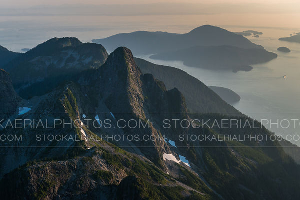 Coastal Mountains, Howe Sound
