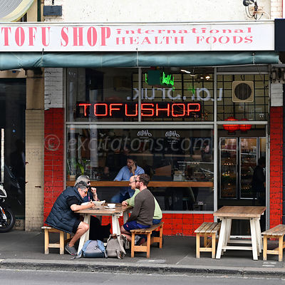 Tofu Shop, Richmond, Victoria, Australia.