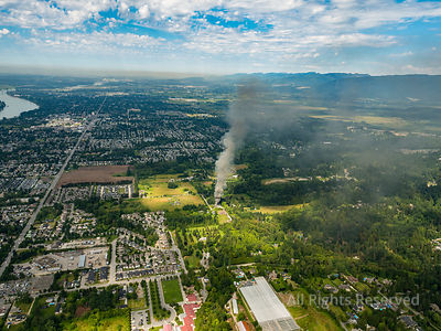 House Fire Maple Ridge BC