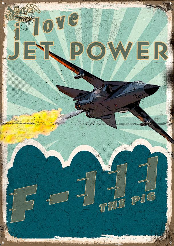 F111 poster