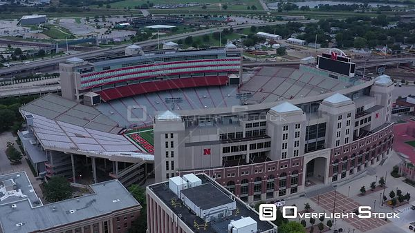 Memorial Stadium, University of Nebraska Football, Lincoln, Nebraska, USA