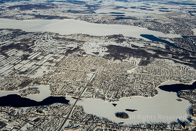 l'ile Bizard Quebec Canada in Winter