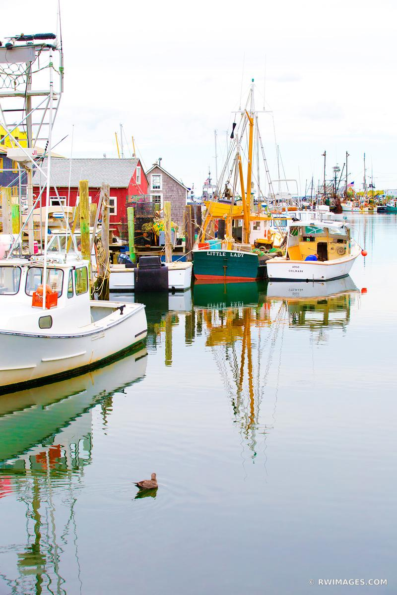 MENEMSHA FISHING VILLAGE CHILMARK MARTHA'S VINEYARD COLOR VERTICAL