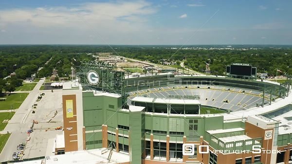 Lambeau Field is an outdoor athletic stadium in the north central United States, located in Green Bay, Wisconsin